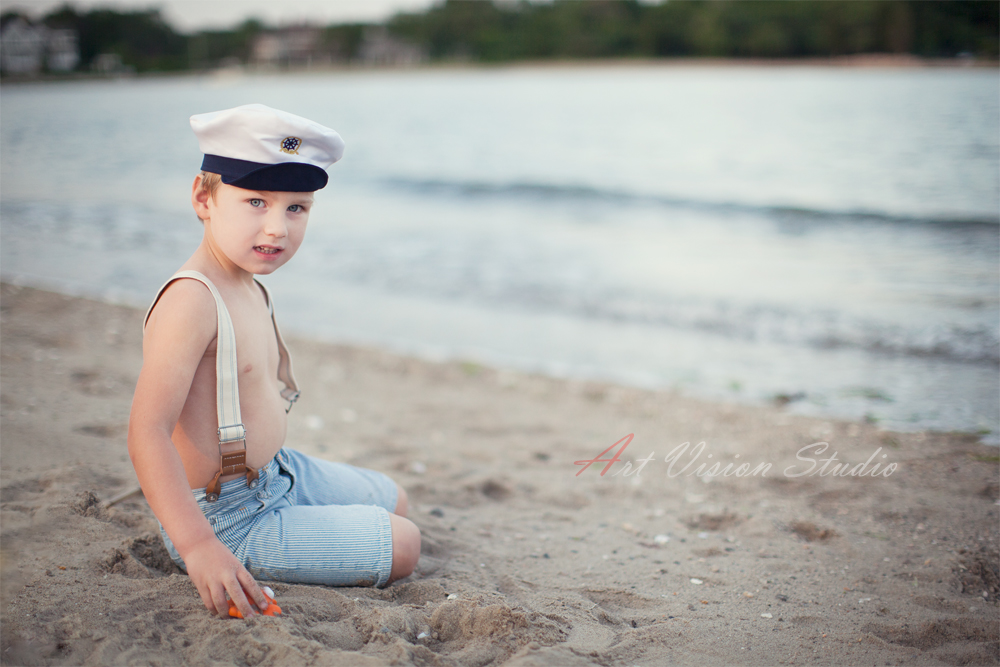 Nautical Themed Toddler Photography