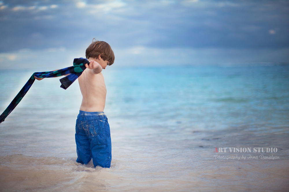Xmas Kids Photography By The Sea Themed Children Sessions In Playa Del Carmen